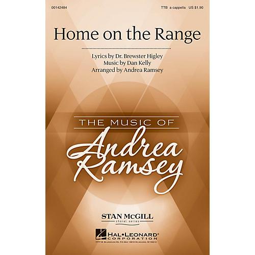 Hal Leonard Home on the Range TTB A Cappella arranged by Andrea Ramsey-thumbnail