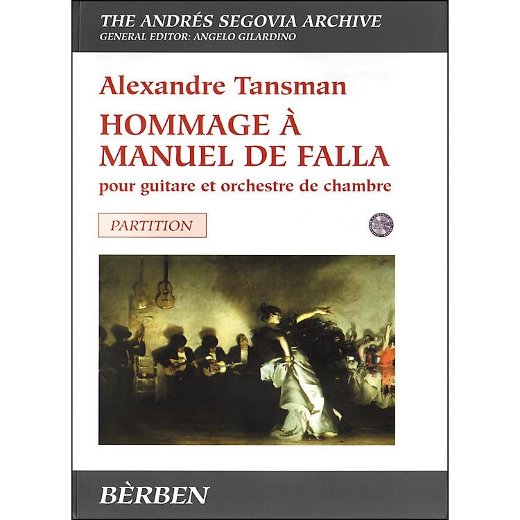 Carl FischerHommage a Manuel de Falla Book/CD