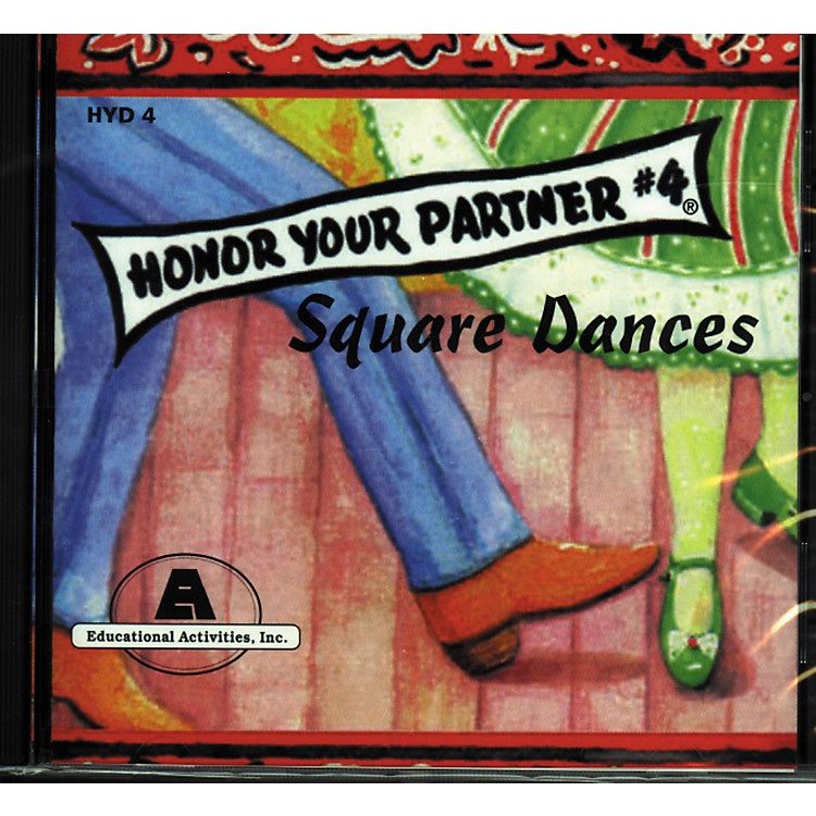 Educational Activities Honor Your Partner Square Dancing Course Complete 4 Cd Set