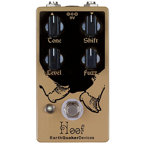 EarthQuaker Devices Hoof Hybrid Fuzz Guitar Effects Pedal-thumbnail