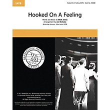 Barbershop Harmony Society Hooked on a Feeling SATB a cappella arranged by Jon Nicholas