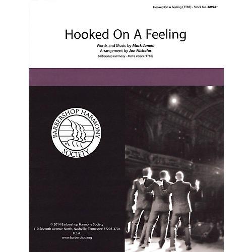Hal Leonard Hooked on a Feeling TTBB A Cappella arranged by Jon Nicholas-thumbnail