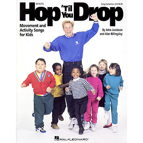 Hal Leonard Hop 'Til You Drop (Movement and Activity Collection) Listening CD Composed by John Jacobson-thumbnail