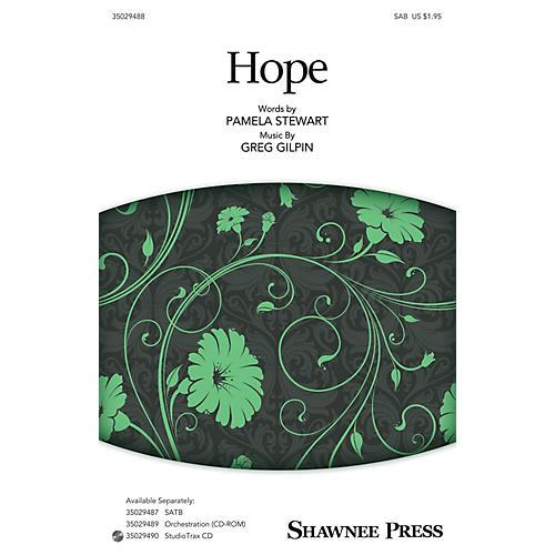 Shawnee Press Hope SAB composed by Greg Gilpin-thumbnail