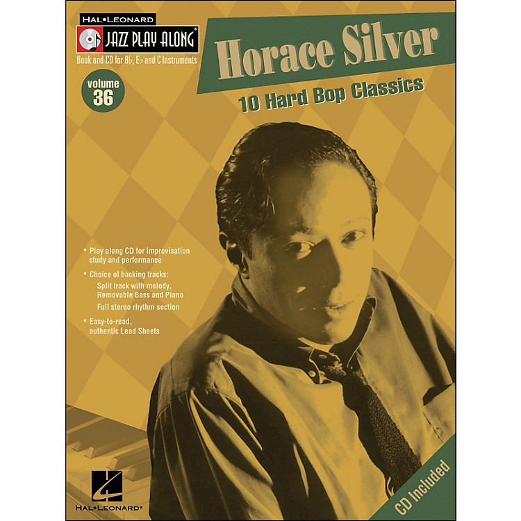 Hal Leonard Horace Silver Volume 36 Book/CD Jazz Play Along
