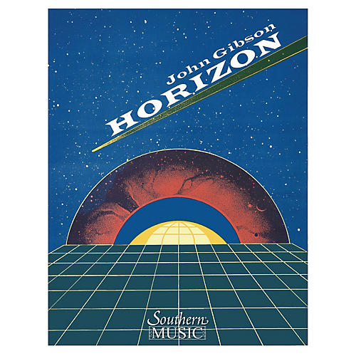 Southern Horizon (Band/Concert Band Music) Concert Band Level 4 Composed by John Gibson-thumbnail