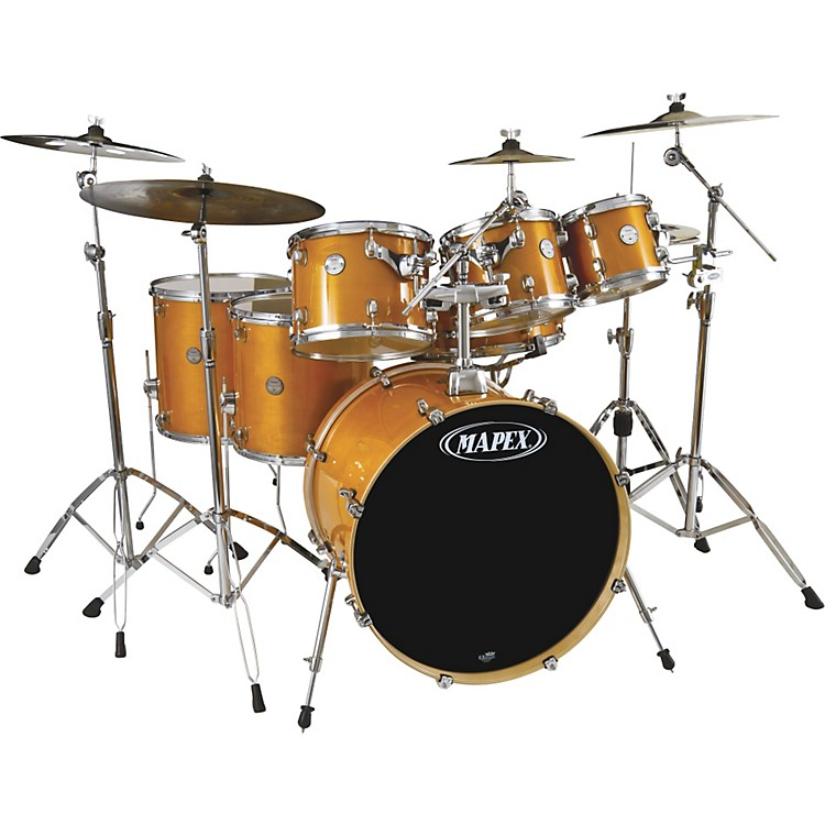 Mapex Horizon Birch/ Basswood Lacquer 7-Piece Drumset with Hardware
