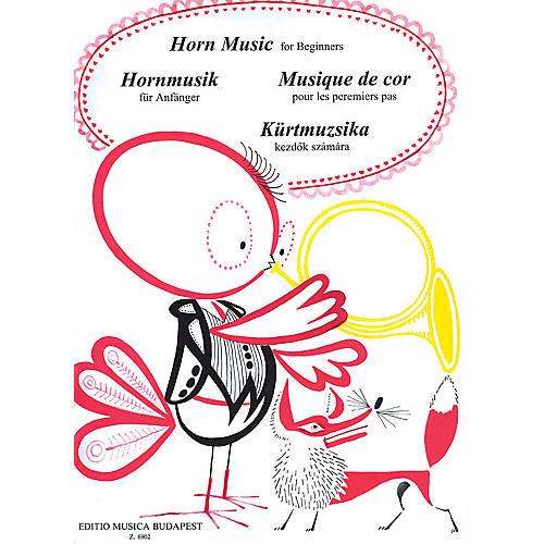 Editio Musica Budapest Horn Music for Beginners EMB Series by János Onozó-thumbnail