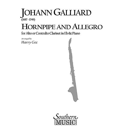 Southern Hornpipe and Allegro (Woodwind Solos & Ensemble/Alto Clarinet Music) Southern Music Series by Harry Gee-thumbnail