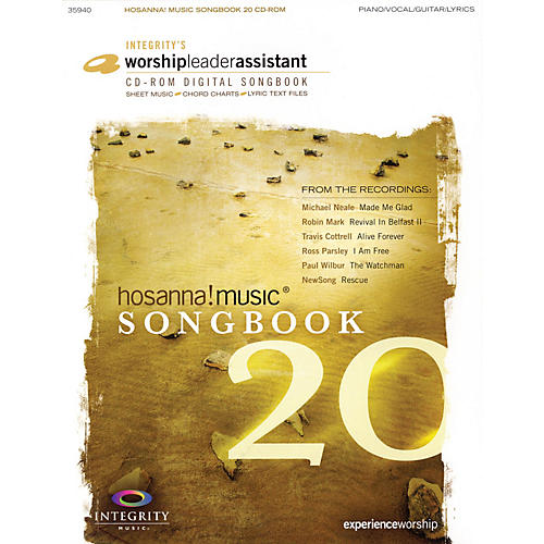Integrity Music Hosanna! Music Songbook 20 Integrity Series CD-ROM Performed by Various-thumbnail