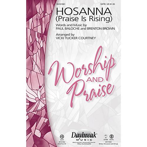 Daybreak Music Hosanna (Praise Is Rising) CHOIRTRAX CD by Paul Baloche Arranged by Vicki Tucker Courtney-thumbnail