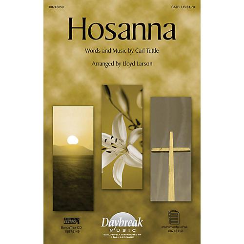 Daybreak Music Hosanna SATB arranged by Lloyd Larson-thumbnail