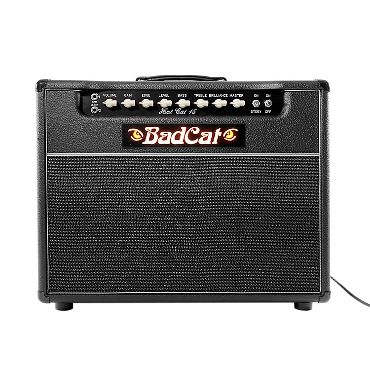 Bad CatHot Cat 15 15W 1x12 Guitar Tube Combo AmpBlack
