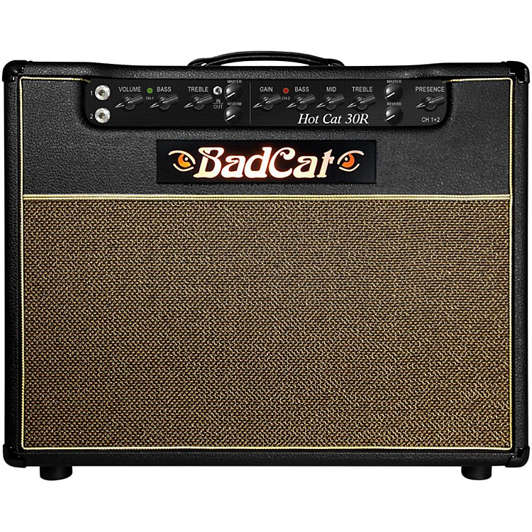 Bad CatHot Cat 30 1x12 Guitar Combo Amp with Reverb