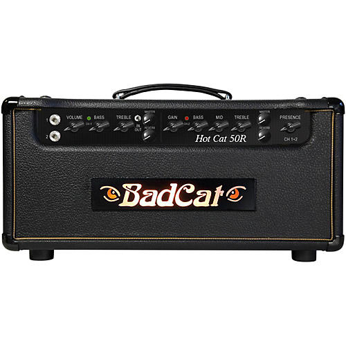 Bad Cat Hot Cat 50W Guitar Amp Head with Reverb-thumbnail
