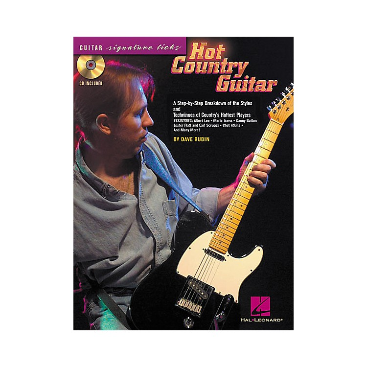 Hal Leonard Hot Country Guitar (Book/CD)