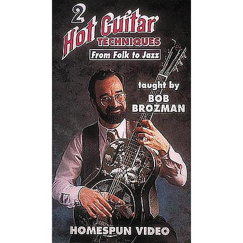 Homespun Hot Guitar Techniques 2 (VHS)-thumbnail