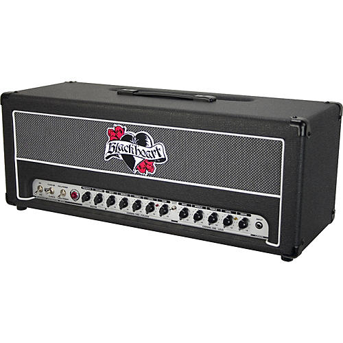Blackheart Hot Head BH100H 100W Tube Guitar Amp Head Black