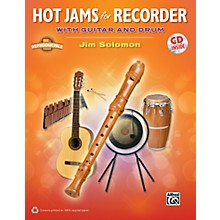 Alfred Hot Jams for Recorder (Book/CD)