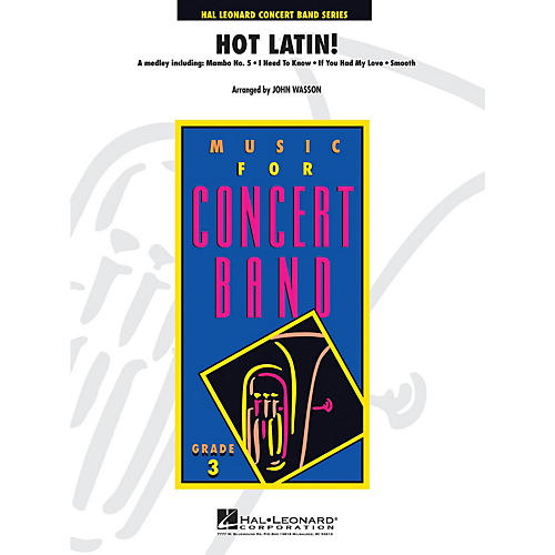 Hal Leonard Hot Latin! - Young Concert Band Level 3 by John Wasson