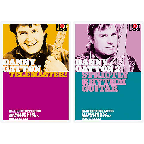 Music Sales Hot Licks: Danny Gatton Telemaster and Strictly Rhythm Guitar DVD Pack-thumbnail