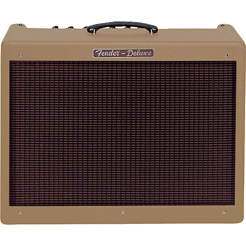 Fender Hot Rod Deluxe Amp - Brown with Oxblood-thumbnail