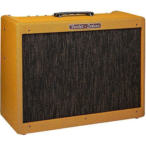 Fender Hot Rod Deluxe Lacquered Tweed, 40-Watt 1x12 Tube Guitar Combo Amplifier Lacquered Tweed-thumbnail
