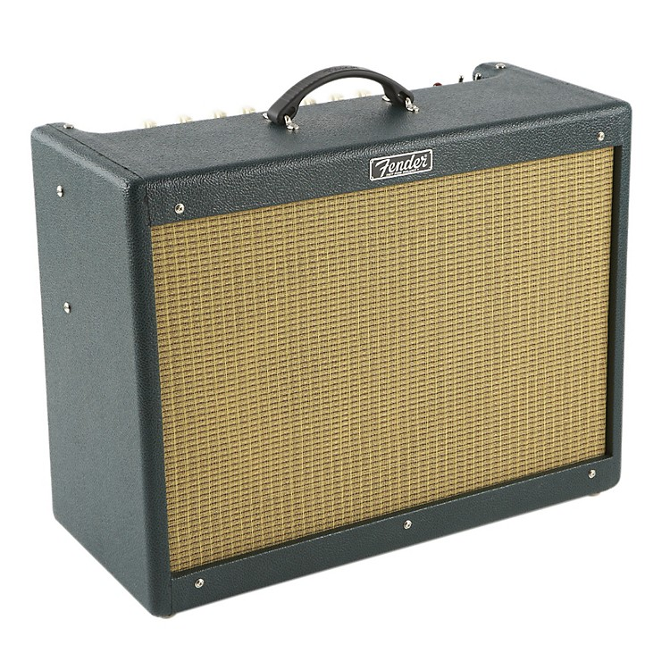 Fender Hot Rod III Deluxe 40W 1x12 Tube Guitar Combo Amp w/Emerald Isle Finish