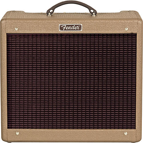 Fender Hot Rod Series Blues Junior 15W 1x12 Tube Guitar Combo Amp - Brown/Oxblood