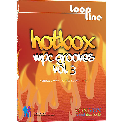 Sonivox Hotbox Vol. 3 - MPC Grooves Drum Loop Collection