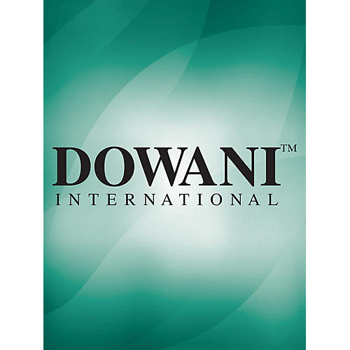 Dowani Editions Hotteterre - Trio Sonata C Major Op. 3 No. 5 for 2 Treble (Alto) Recorders and Basso Cont Dowani Book/CD