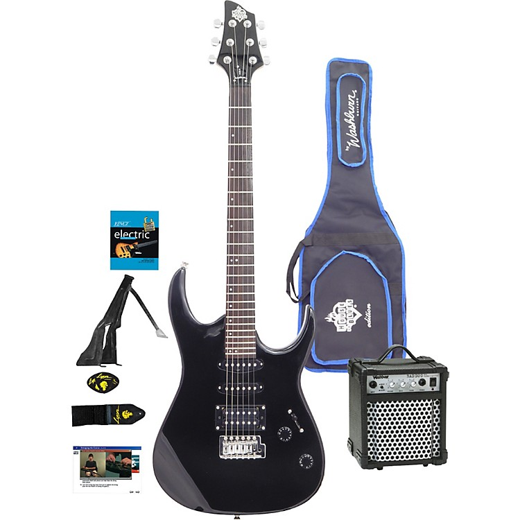 WashburnHouse of Blues Electric Guitar Package