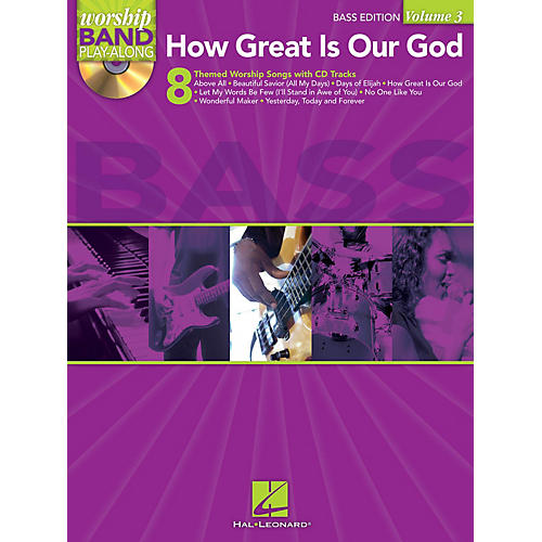 Hal Leonard How Great Is Our God - Bass Edition Worship Band Play-Along Series Softcover with CD-thumbnail