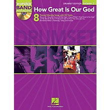 Hal Leonard How Great Is Our God - Drums Edition Worship Band Play-Along Series Softcover with CD