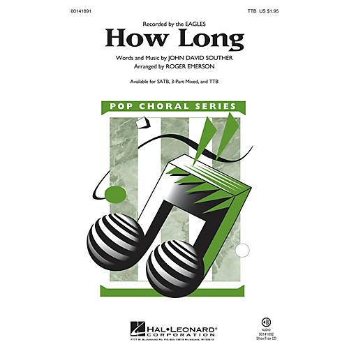 Hal Leonard How Long TTB arranged by Roger Emerson-thumbnail