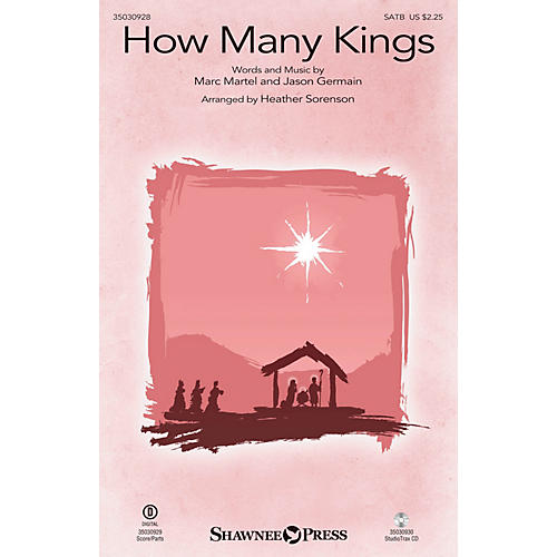 Shawnee Press How Many Kings SATB by Down Here arranged by Heather Sorenson-thumbnail