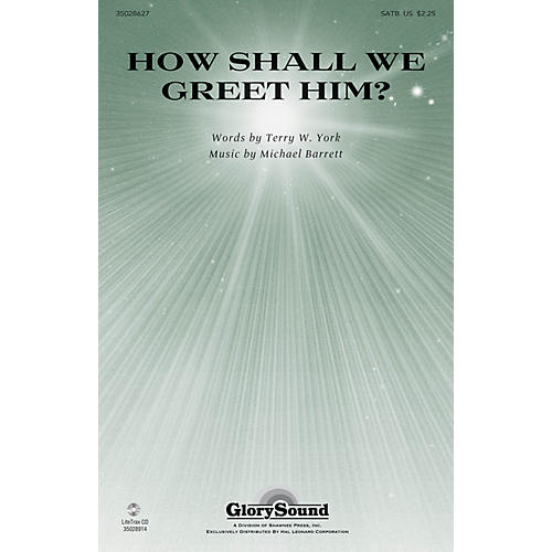 Shawnee Press How Shall We Greet Him? SATB composed by Michael Barrett-thumbnail