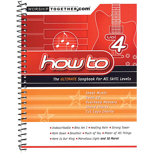 Hal Leonard How To - Vol. 4 (The Ultimate Songbook for All Skill Levels) Sacred Folio Series Softcover by Various-thumbnail