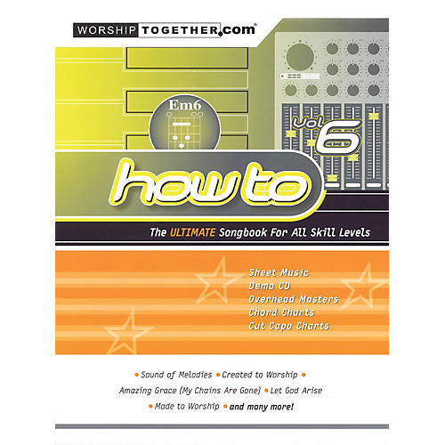Hal Leonard How To - Vol. 6 (The Ultimate Songbook for All Skill Levels) Sacred Folio Series Softcover by Various-thumbnail