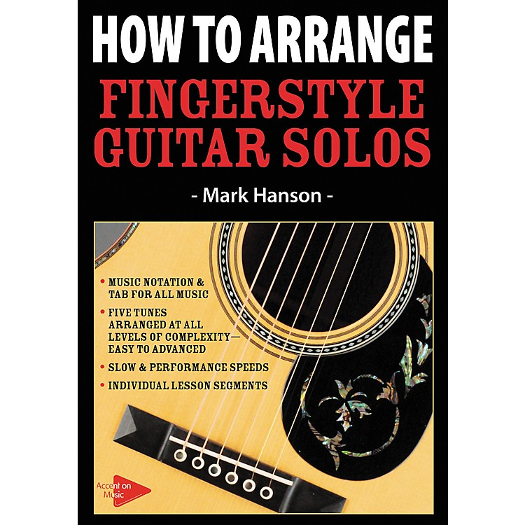 Music SalesHow To Arrange Fingerstyle Guitar Solos (DVD)