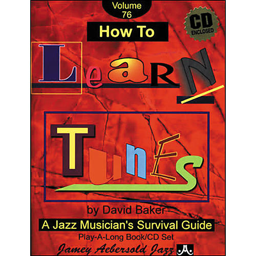 Jamey Aebersold How To Learn Tunes Play-Along Book and CD