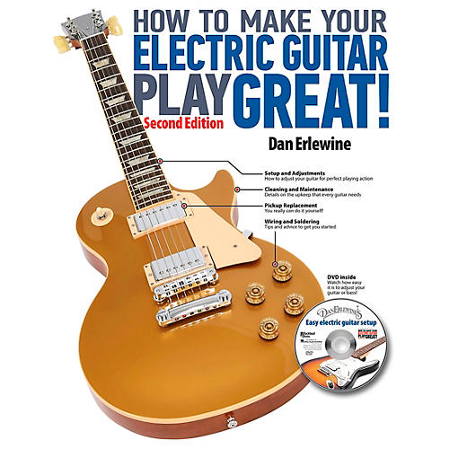 Hal Leonard How To Make Your Electric Guitar Play Great! Revised 2nd Edition (Book/Online Audio)-thumbnail