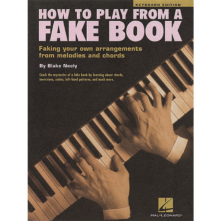 Hal Leonard How To Play From a Fake Book for Keyboard