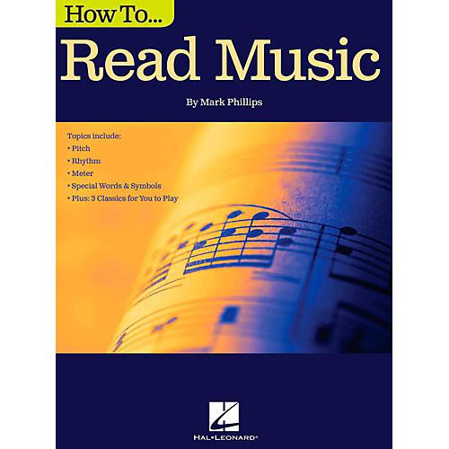 Hal Leonard How To Read Music Book-thumbnail