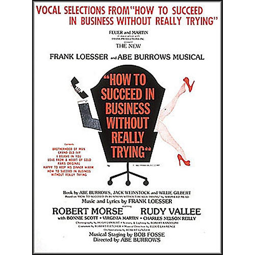 Hal Leonard How To Succeed In Business without Really Trying arranged for piano, vocal, and guitar (P/V/G)