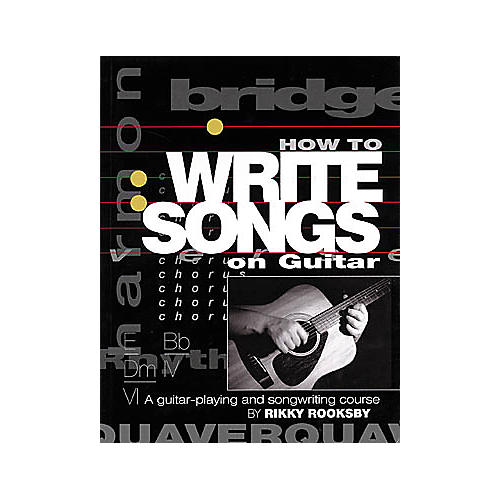 Miller Freeman How To Write Songs on Guitar Book