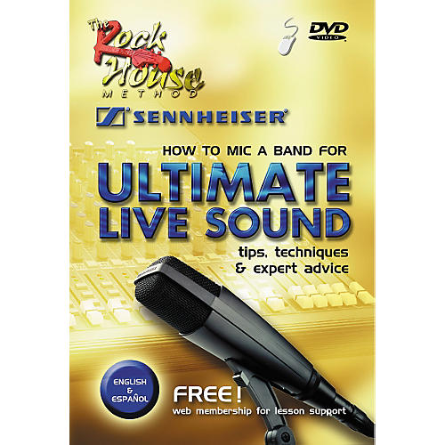 Rock House How to Mic a Band for Ultimate Live Sound DVD