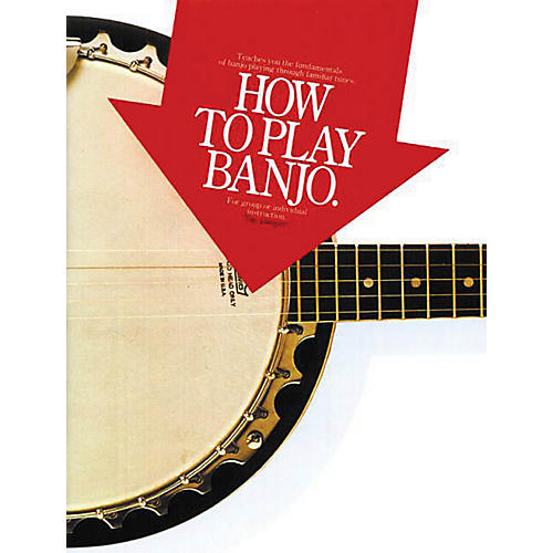 Music Sales How to Play Banjo Music Sales America Series Softcover Written by Tim Jumper-thumbnail