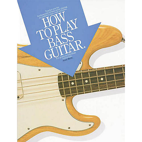 Music Sales How to Play Bass Guitar Music Sales America Series Softcover Written by Arnie Berle-thumbnail