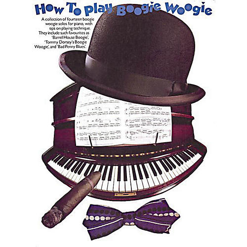 Music Sales How to Play Boogie-Woogie Music Sales America Series Softcover Written by Frank Booth-thumbnail